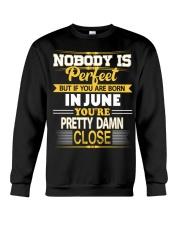 Born in June Crewneck Sweatshirt thumbnail