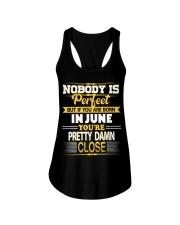 Born in June Ladies Flowy Tank thumbnail