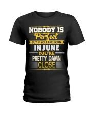 Born in June Ladies T-Shirt thumbnail