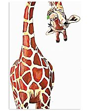Funny Giraffe 11x17 Poster front