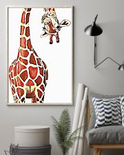 Funny Giraffe 11x17 Poster lifestyle-poster-1