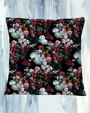 Watercolor Flower Pattern Decorative Throw Pillow Square Pillowcase aos-pillow-square-front-lifestyle-27