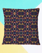 Flower Pattern Pillow Square Pillowcase aos-pillow-square-front-lifestyle-13