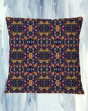 Flower Pattern Pillow Square Pillowcase aos-pillow-square-front-lifestyle-27