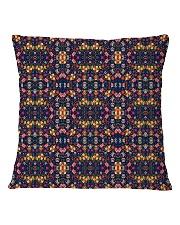 Flower Pattern Pillow Square Pillowcase back