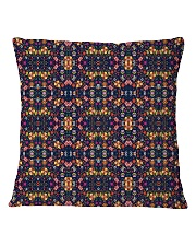 Flower Pattern Pillow Square Pillowcase front