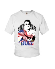 4THOFJULY-INDEPENDENCE DAY- STAY HOME -SHIRTS Youth T-Shirt thumbnail