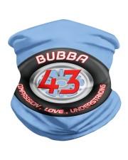 bubba Wallace 43 unisex short sleeve t shirt Neck Gaiter front