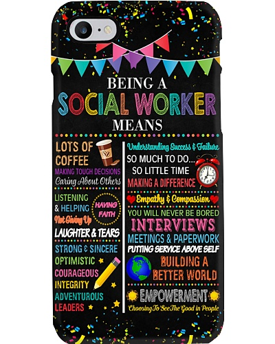 Being A Social Worker Means