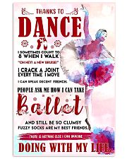 Ballet Thanks To Dance 11x17 Poster front