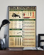 Drummer Drum Knowledge 11x17 Poster lifestyle-poster-2