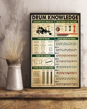 Drummer Drum Knowledge 11x17 Poster lifestyle-poster-3