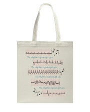 Rhythm Gonna Get You Cardiologist Tote Bag thumbnail