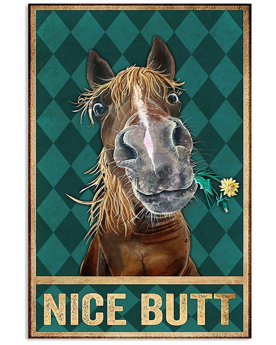 Horse Girl Nice Horse 11x17 Poster