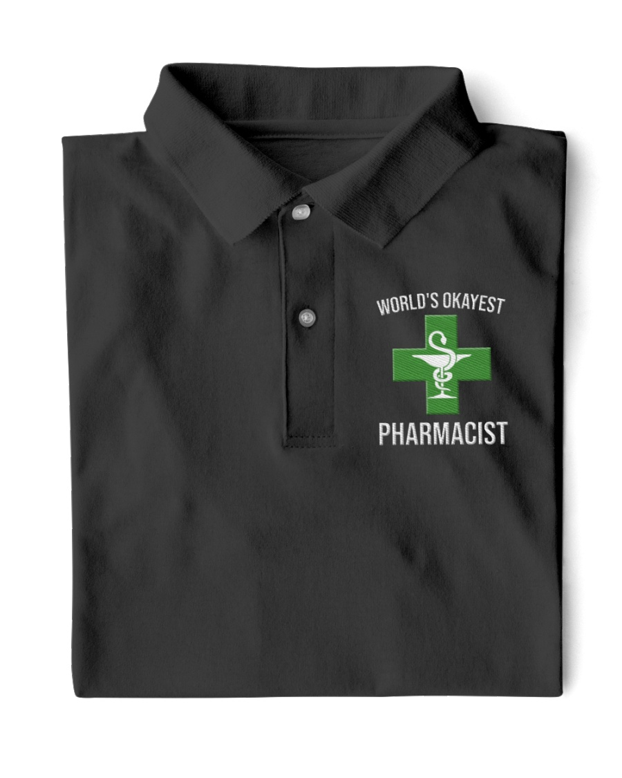 World's okayest pharmacist Classic Polo
