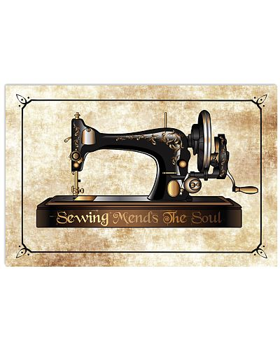 Sewing Machine Mends The Soul