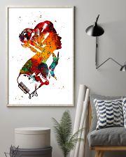 Art Girl Hairdresser 11x17 Poster lifestyle-poster-1