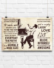 Pianist Today Is A Good Day 17x11 Poster aos-poster-landscape-17x11-lifestyle-17