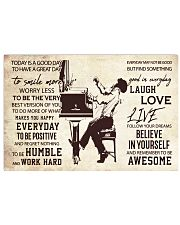 Pianist Today Is A Good Day 17x11 Poster front