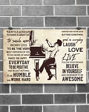Pianist Today Is A Good Day 17x11 Poster poster-landscape-17x11-lifestyle-18