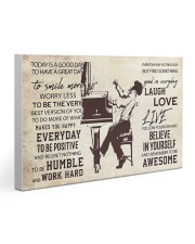 Pianist Today Is A Good Day 30x20 Gallery Wrapped Canvas Prints thumbnail