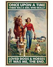 Horse Girl - Horses And Dogs 11x17 Poster front
