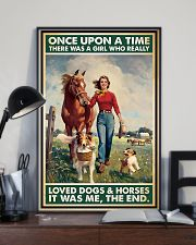 Horse Girl - Horses And Dogs 11x17 Poster lifestyle-poster-2