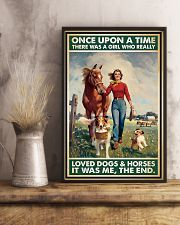 Horse Girl - Horses And Dogs 11x17 Poster lifestyle-poster-3