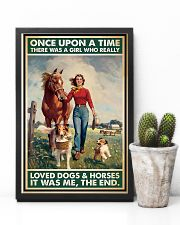 Horse Girl - Horses And Dogs 11x17 Poster lifestyle-poster-8
