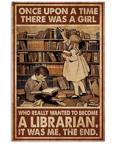 Librarian A Girl Wanted To Become A Librarian