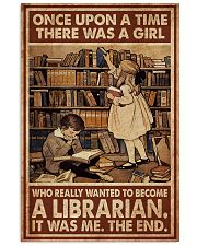 Librarian A Girl Wanted To Become A Librarian 24x36 Poster front