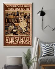Librarian A Girl Wanted To Become A Librarian 24x36 Poster lifestyle-poster-1