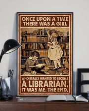 Librarian A Girl Wanted To Become A Librarian 24x36 Poster lifestyle-poster-2