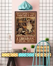 Librarian A Girl Wanted To Become A Librarian 24x36 Poster lifestyle-poster-6
