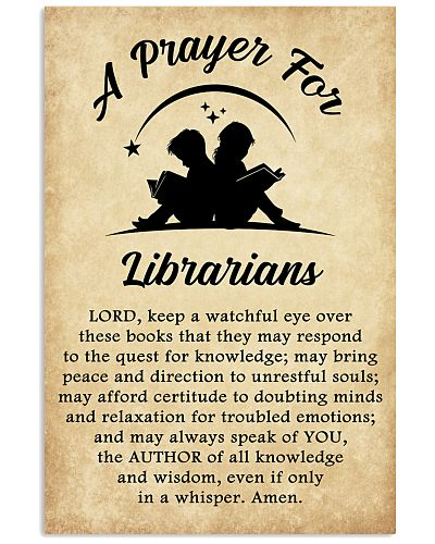 Librarian's Prayer