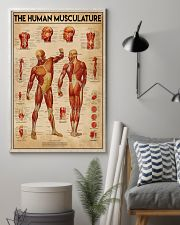 Massage therapist The Human Musculature 11x17 Poster lifestyle-poster-1
