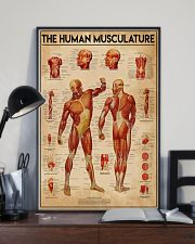 Massage therapist The Human Musculature 11x17 Poster lifestyle-poster-2