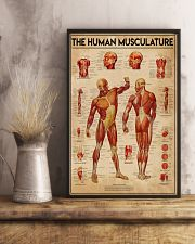 Massage therapist The Human Musculature 11x17 Poster lifestyle-poster-3