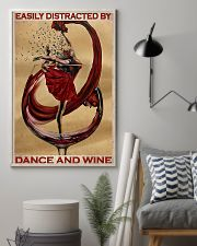 Ballet Easily Distracted By Dance And Wine  11x17 Poster lifestyle-poster-1
