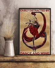 Ballet Easily Distracted By Dance And Wine  11x17 Poster lifestyle-poster-3