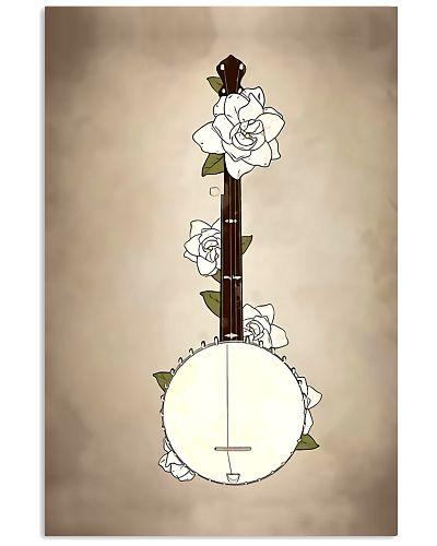 White Flower Banjo