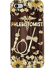 Phlebotomist - Floral butterfly needle Phone Case i-phone-7-case