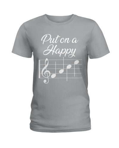 Pianist Put on a happy