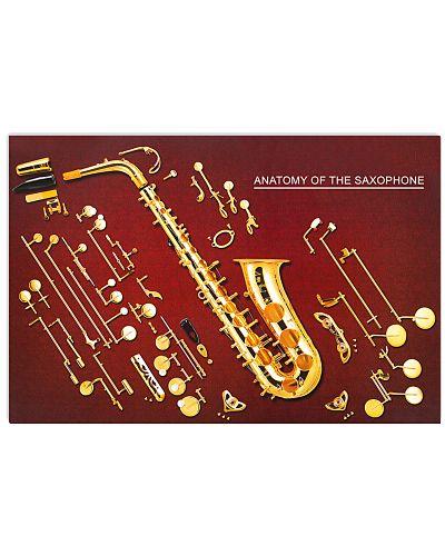 Anatomy Of The Saxophone