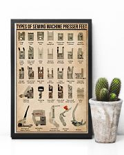 Sewing Types Of Sewing Machine Presser Feet 11x17 Poster lifestyle-poster-8