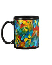 Colorful Parrots Mug back