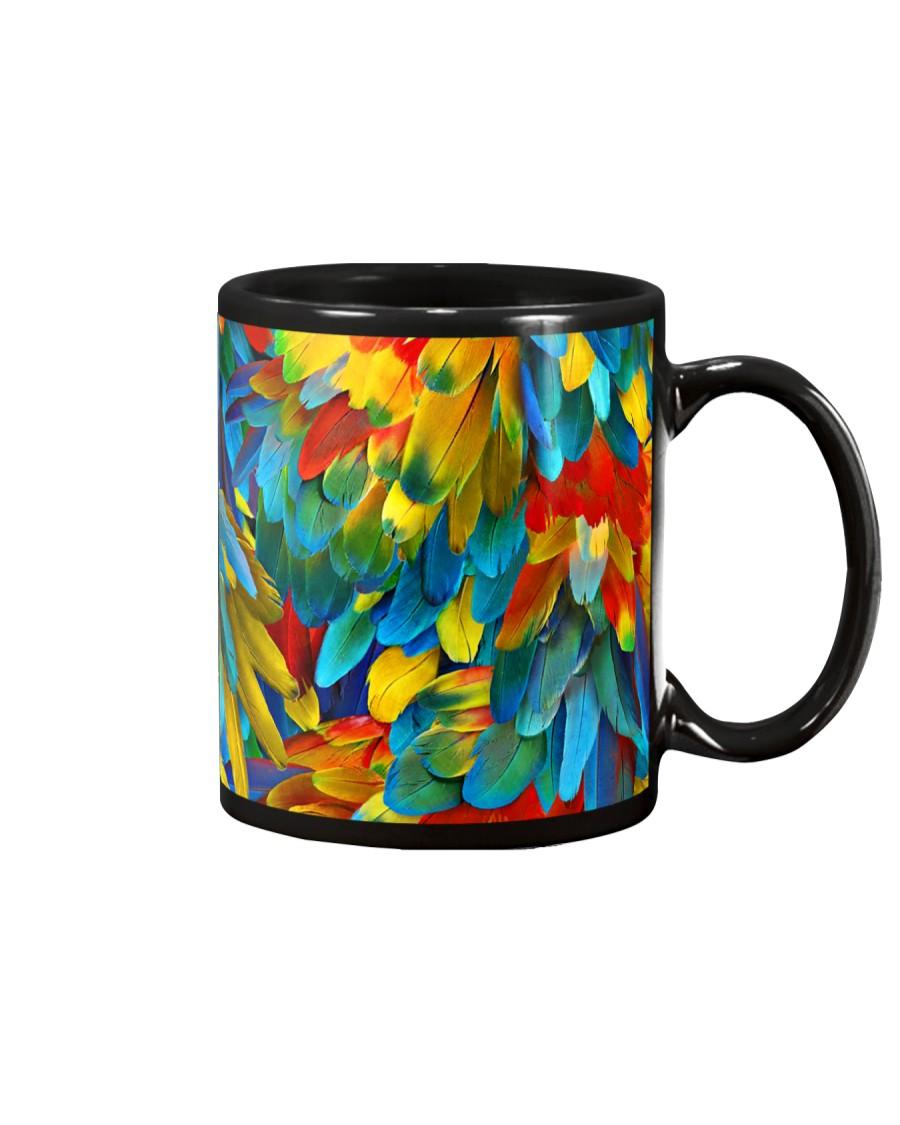 Colorful Parrots Mug
