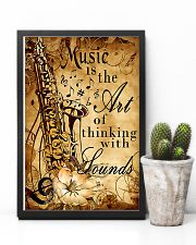 Saxophone The art of thinking with sounds 11x17 Poster lifestyle-poster-8