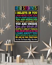 Teacher Dear Students 11x17 Poster lifestyle-holiday-poster-1