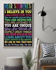Teacher Dear Students 11x17 Poster lifestyle-poster-1
